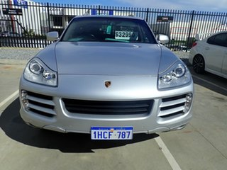 2009 Porsche Cayenne 9PA MY10 Diesel Silver Metallic 6 Speed Sports Automatic Wagon.
