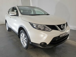 2016 Nissan Qashqai J11 ST White 1 Speed Constant Variable Wagon.