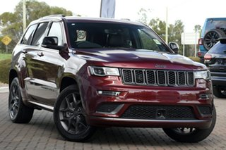 2020 Jeep Grand Cherokee WK MY20 S-Limited Velvet Red 8 Speed Sports Automatic Wagon.