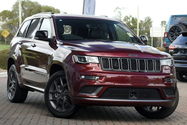 New Jeep Grand Cherokee WK MY20 S-Limited Port Macquarie, 2020 Jeep Grand Cherokee WK MY20 S-Limited Velvet Red 8 Speed Sports Automatic Wagon
