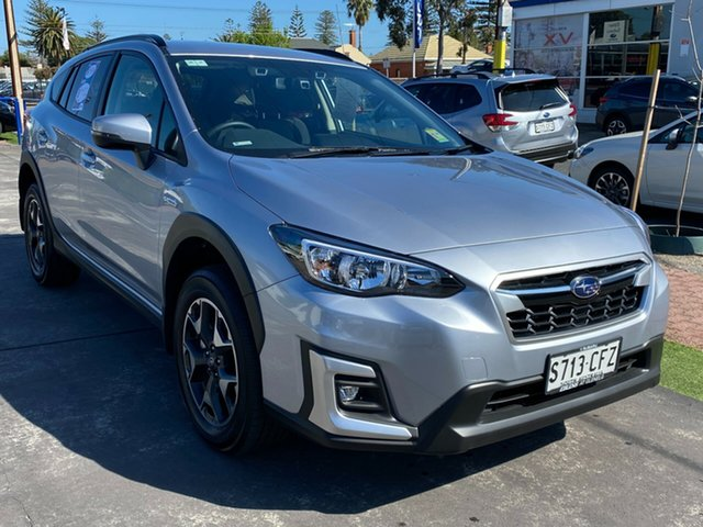 Demo Subaru XV G5X MY20 Hybrid Lineartronic AWD, 2020 Subaru XV G5X MY20 Hybrid Lineartronic AWD Ice Silver 7 Speed Constant Variable Wagon Hybrid