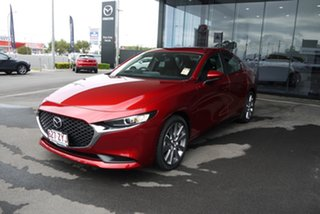 2020 Mazda 3 BP2S7A G20 SKYACTIV-Drive Evolve Red 6 Speed Sports Automatic Sedan.