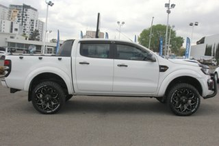 2015 Ford Ranger PX MkII XLS Double Cab White 6 Speed Sports Automatic Double Cab Pick Up