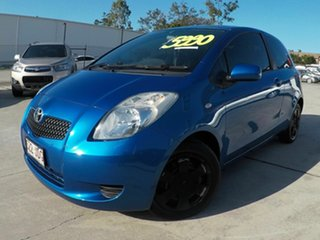 2005 Toyota Yaris 90 SERIES YRS Blue 4 Speed Automatic Hatchback