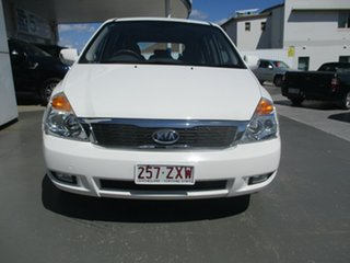 2011 Kia Grand Carnival VQ MY12 S White 6 Speed Automatic Wagon