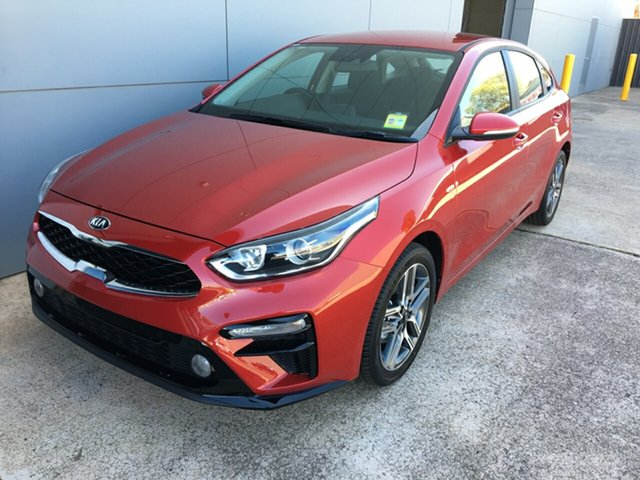 Demo Kia Cerato BD MY20 Sport Cheltenham, 2020 Kia Cerato BD MY20 Sport Runway Red 6 Speed Sports Automatic Hatchback
