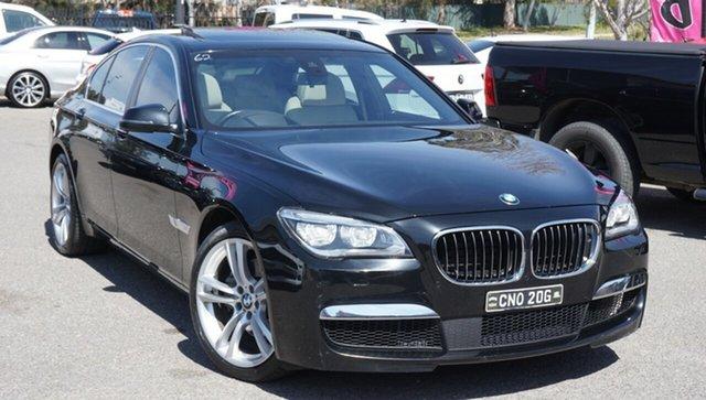Used BMW 7 Series F01 LCI 740i Steptronic, 2013 BMW 7 Series F01 LCI 740i Steptronic Black 8 Speed Sports Automatic Sedan