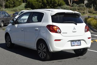 2017 Mitsubishi Mirage LA MY18 LS White 1 Speed Constant Variable Hatchback.