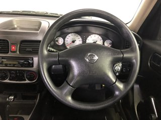 2005 Nissan Pulsar N16 MY2004 ST Silver 4 Speed Automatic Sedan