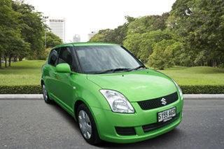 2010 Suzuki Swift RS415 Lime 4 Speed Automatic Hatchback.