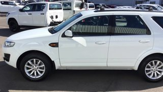 2015 Ford Territory SZ MkII TX Seq Sport Shift White 6 Speed Sports Automatic Wagon.