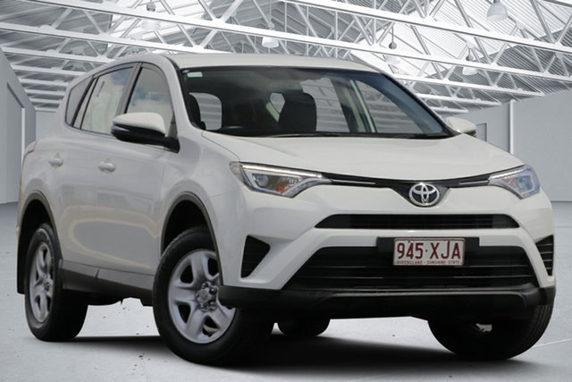 Used Toyota RAV4 ZSA42R MY17 GX (2WD) Eagle Farm, 2017 Toyota RAV4 ZSA42R MY17 GX (2WD) White Continuous Variable Wagon