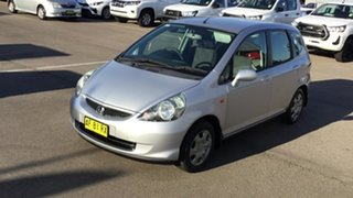 2005 Honda Jazz GD MY05 VTi Silver 7 Speed Constant Variable Hatchback