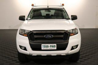 2018 Ford Ranger PX MkII 2018.00MY XL Hi-Rider Cool White 6 speed Automatic Cab Chassis.