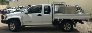 2011 Holden Colorado RC MY11 LX Space Cab White 5 Speed Manual Cab Chassis.