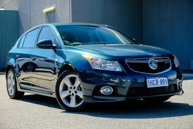Used Holden Cruze JH Series II MY12 SRi, 2012 Holden Cruze JH Series II MY12 SRi Blue 6 Speed Manual Hatchback