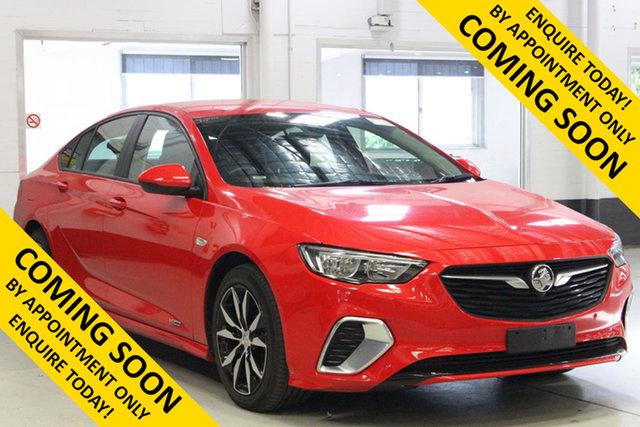 Used Holden Commodore ZB RS, 2018 Holden Commodore ZB RS Red 9 Speed Automatic Liftback