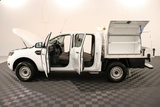 2018 Ford Ranger PX MkII 2018.00MY XL Hi-Rider Cool White 6 speed Automatic Cab Chassis