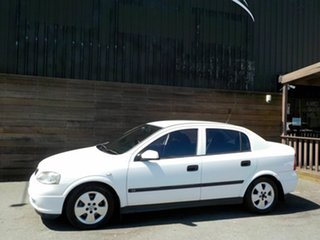 2002 Holden Astra TS MY03 CD White 4 Speed Automatic Sedan