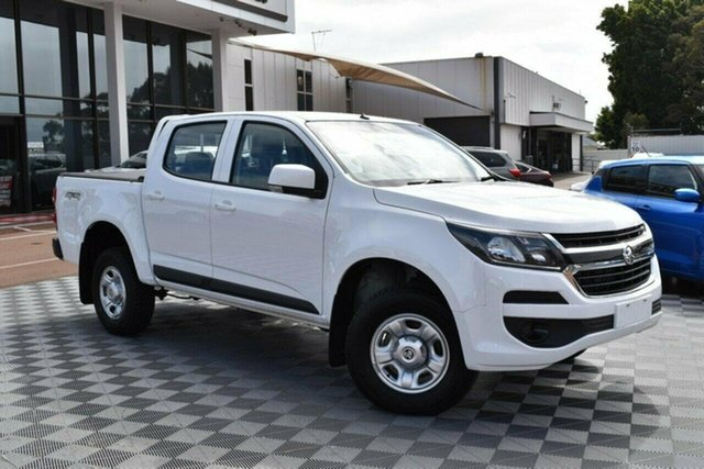 Used Holden Colorado RG MY20 LS Pickup Crew Cab, 2019 Holden Colorado RG MY20 LS Pickup Crew Cab White 6 Speed Sports Automatic Utility