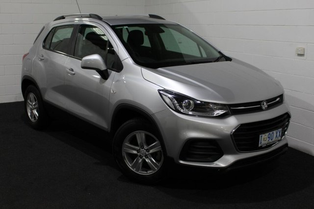 Used Holden Trax TJ MY18 LS, 2018 Holden Trax TJ MY18 LS Silver 6 Speed Automatic Wagon