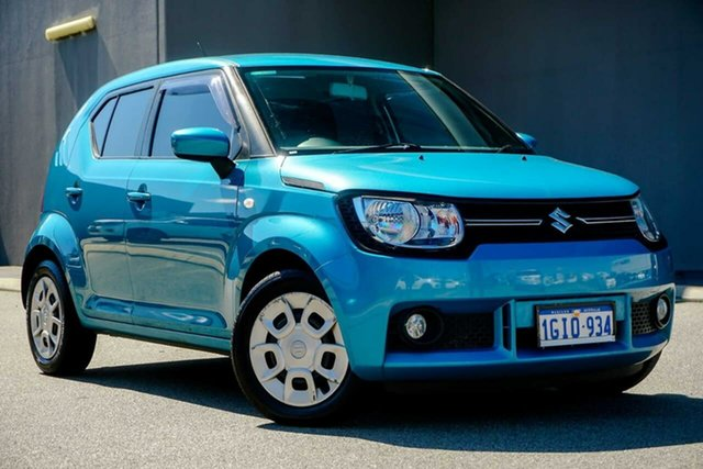 Used Suzuki Ignis MF GL, 2017 Suzuki Ignis MF GL Blue 1 Speed Constant Variable Hatchback