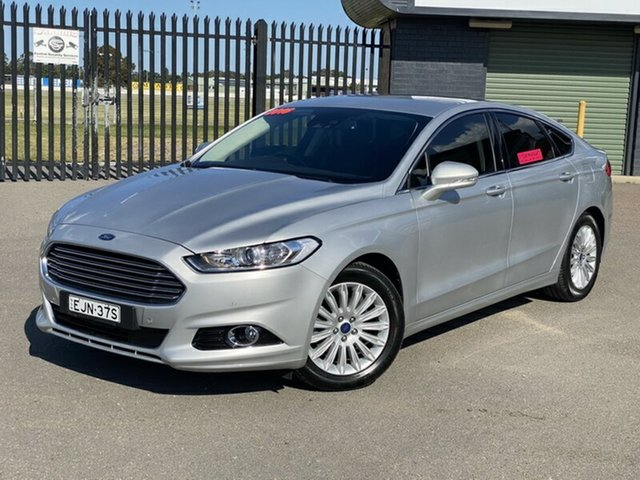 Used Ford Mondeo MD Trend, 2016 Ford Mondeo MD Trend Silver 6 Speed Sports Automatic Hatchback