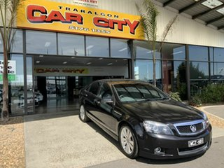 2007 Holden Caprice WM MY08 Black 5 Speed Auto Active Select Sedan.