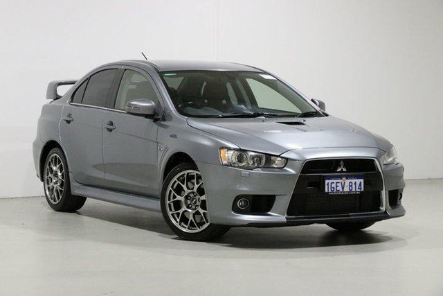 Used Mitsubishi Lancer CJ MY15 Evolution MR, 2015 Mitsubishi Lancer CJ MY15 Evolution MR Grey 6 Speed Direct Shift Sedan