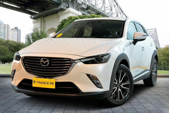 Used Mazda CX-3 DK2W7A Akari SKYACTIV-Drive, 2016 Mazda CX-3 DK2W7A Akari SKYACTIV-Drive White 6 Speed Sports Automatic Wagon