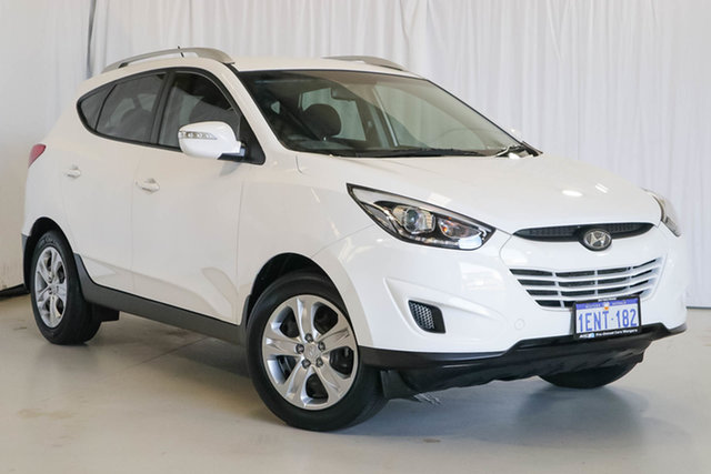 Used Hyundai ix35 LM3 MY14 Active, 2014 Hyundai ix35 LM3 MY14 Active White 6 Speed Sports Automatic Wagon