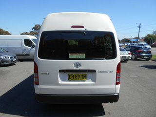 2016 Toyota HiAce TRH223R MY16 Commuter White 6 Speed Automatic Bus