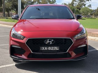 2018 Hyundai i30 PD.3 MY19 N Line D-CT Red 7 Speed Sports Automatic Dual Clutch Hatchback