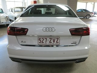 2015 Audi A6 4G MY15 S Line S Tronic Quattro White 7 Speed Sports Automatic Dual Clutch Sedan