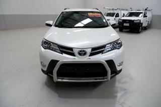 2015 Toyota RAV4 ALA49R GXL AWD White 6 Speed Sports Automatic Wagon.