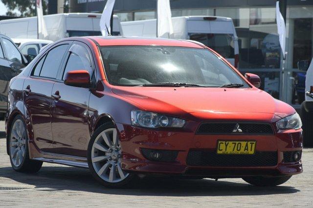 Used Mitsubishi Lancer  , 2008 Mitsubishi Lancer Red Manual