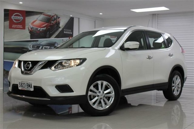 Used Nissan X-Trail T32 ST, 2017 Nissan X-Trail T32 ST Ivory Pearl 7 Speed Constant Variable Wagon
