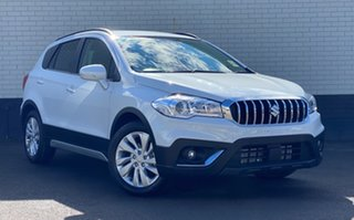 2020 Suzuki S-Cross JY Turbo Cool White 6 Speed Sports Automatic Hatchback.