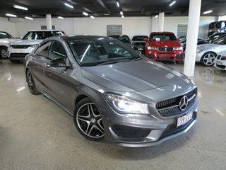 2015 Mercedes-Benz CLA-Class C117 805+055MY CLA200 CDI DCT Grey 7 Speed Sports Automatic Dual Clutch.