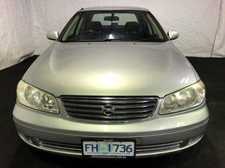2005 Nissan Pulsar N16 MY2004 ST Silver 4 Speed Automatic Sedan.