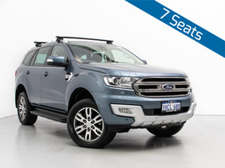 2018 Ford Everest UA MY18 Trend (4WD) Blue 6 Speed Automatic SUV.