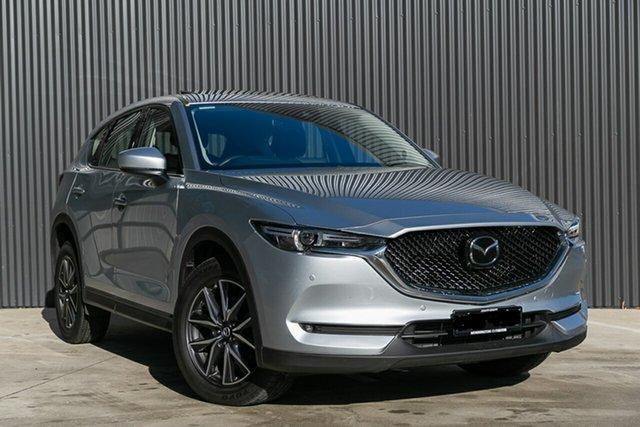 Demo Mazda CX-5 KF4WLA GT SKYACTIV-Drive i-ACTIV AWD, 2020 Mazda CX-5 KF4WLA GT SKYACTIV-Drive i-ACTIV AWD Sonic Silver 6 Speed Sports Automatic Wagon