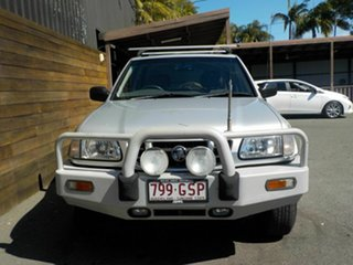 2002 Holden Frontera MX MY2002 S Silver 5 Speed Manual Wagon