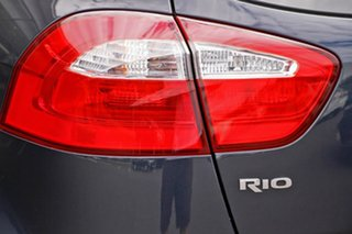 2012 Kia Rio UB MY12 S Black 6 Speed Manual Hatchback
