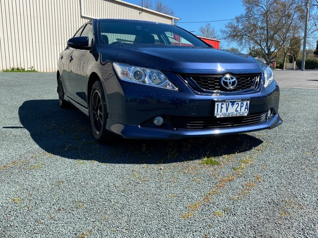 Used Toyota Aurion GSV50R Sportivo Bendigo, 2015 Toyota Aurion GSV50R Sportivo Blue 6 Speed Sports Automatic Sedan