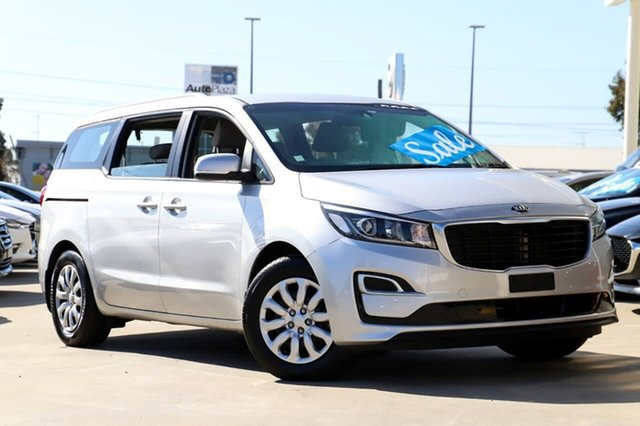 Used Kia Carnival YP MY18 S Kirrawee, 2018 Kia Carnival YP MY18 S Silver 6 Speed Sports Automatic Wagon