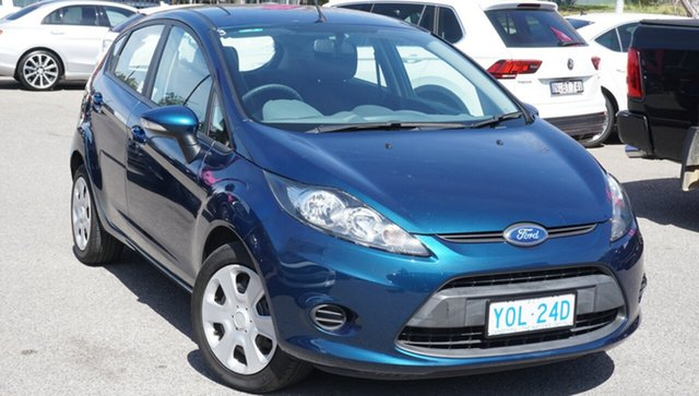 Used Ford Fiesta WS CL, 2010 Ford Fiesta WS CL Blue 5 Speed Manual Hatchback
