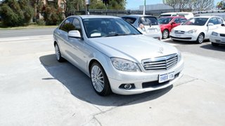 2009 Mercedes-Benz C-Class W204 C320 CDI Elegance Silver 7 Speed Sports Automatic Sedan.