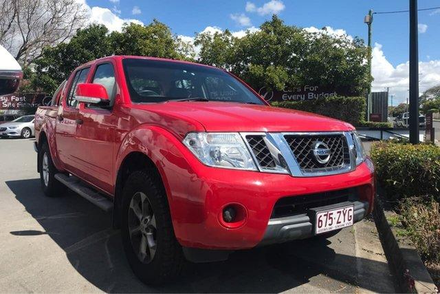 Used Nissan Navara D40 S6 MY12 ST, 2013 Nissan Navara D40 S6 MY12 ST Red 6 Speed Manual Utility