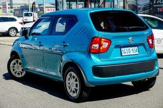 2017 Suzuki Ignis MF GL Blue 1 Speed Constant Variable Hatchback.